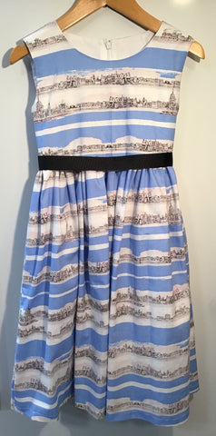 Girl's London Skyline Dress