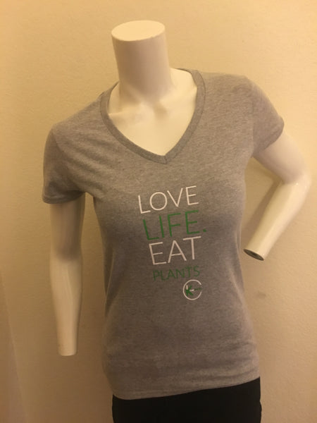 Heather Gray V-neck Shirt