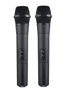 2.4GHz Wireless Microphones