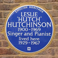 Blue Plaque Leslie 'Hutch' Hutchinson