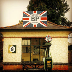 1920s Gas Station Brooklands Museum