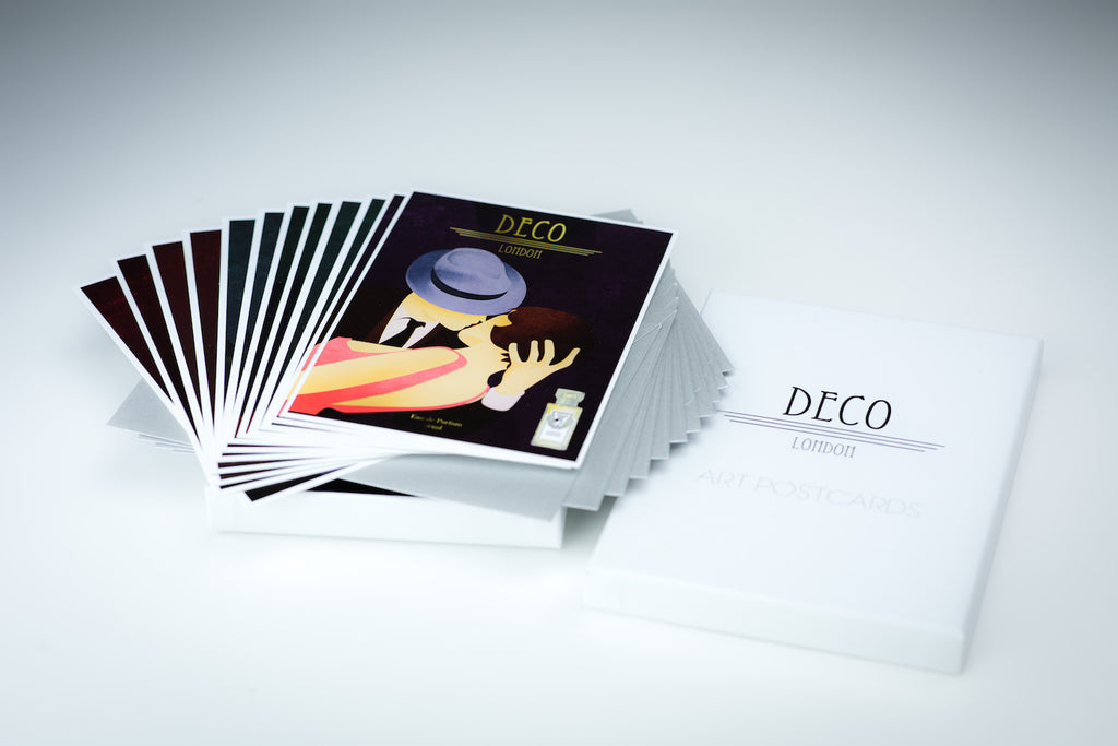 Deco Art Postcards - Deco London