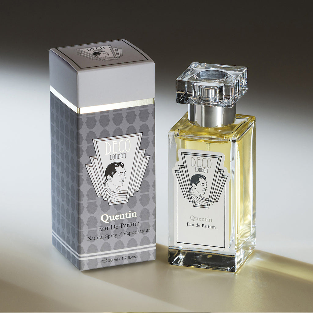 "Deco London Luxury British Perfume Box ""Quentin"""