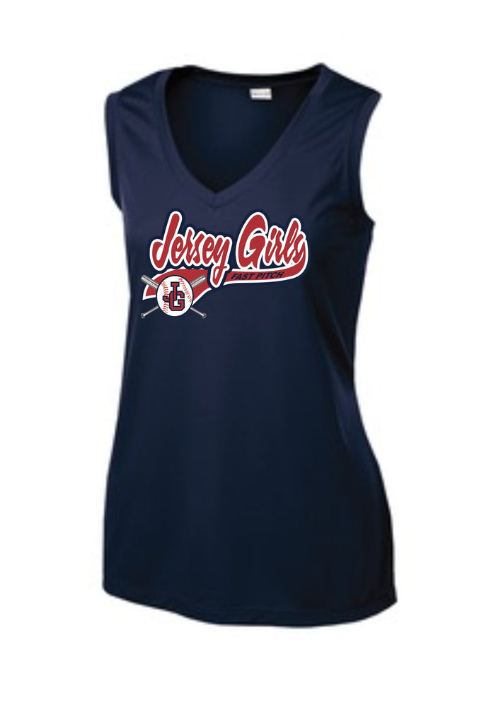 Ladies Sleeveless Performance T