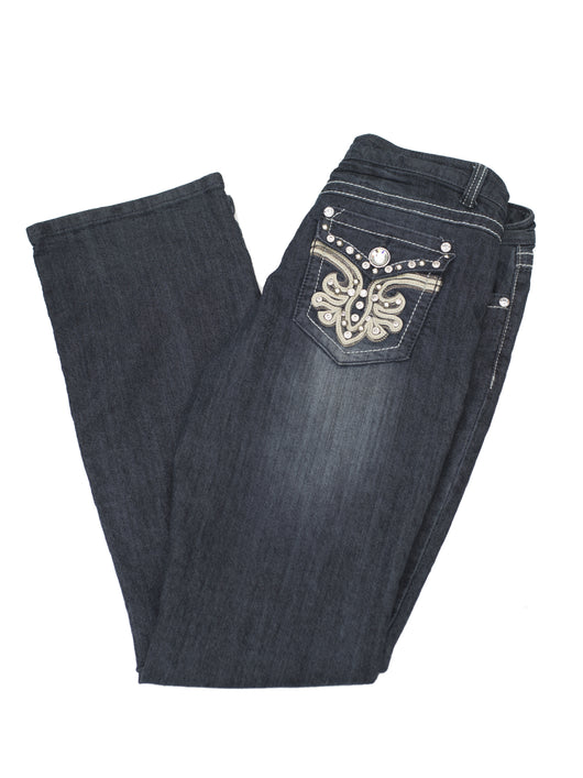 jeans femme western occasion Candy Couture bling