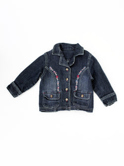 blouson jeans fillette veste denim