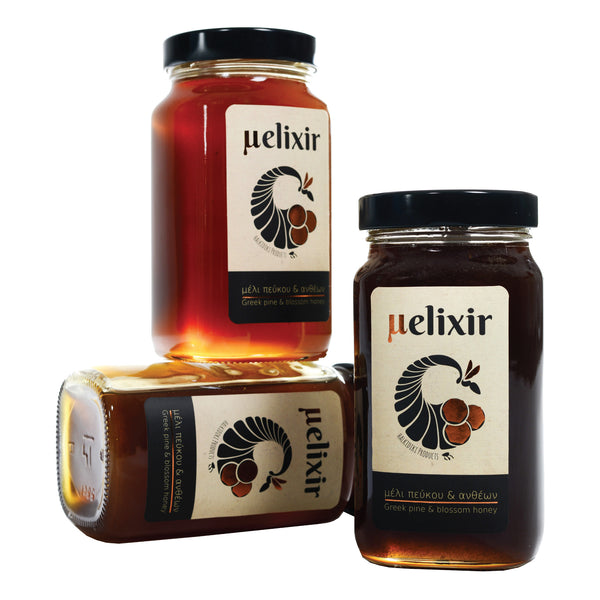 melixir greek pine honey