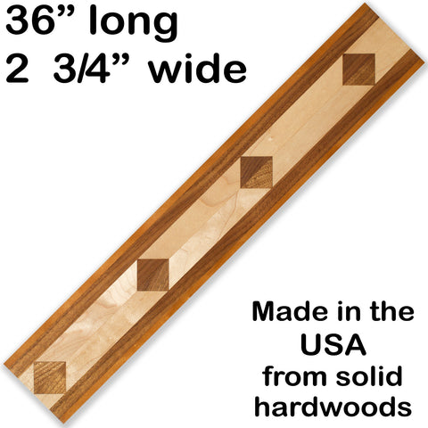 Inlay 1028 Cherry, Walnut, Maple