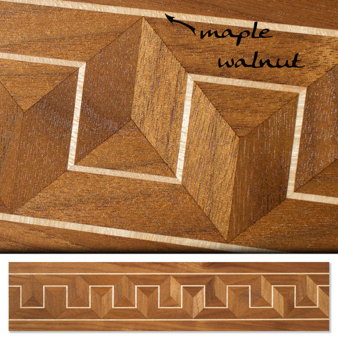 Inlay 1067 Walnut, Maple