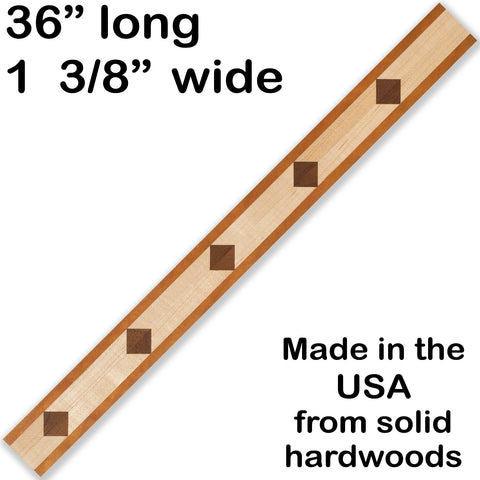 Inlay 1081 Cherry, Maple, Walnut