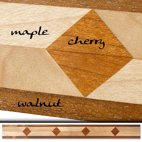 Inlay 1082 Walnut, Maple, Cherry