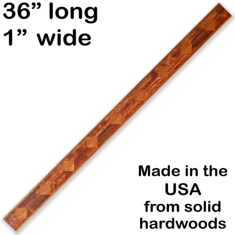 Inlay 1090 Cherry, Bubinga