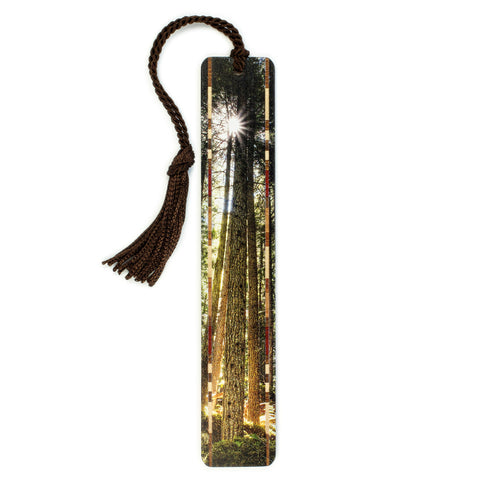 Photograph at Olympic National Park, Washington - Color Wooden Bookmark with Tassel