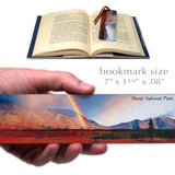 Denali National Park, Alaska Wooden Bookmark with Suede Tassel