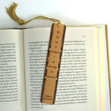 Imagination Quote by Albert Einstein Wooden Bookmark with Tassel