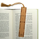 Emily Dickinson - I Dwell In Possibility - Quote Engraved Wooden Bookmark with Tassel