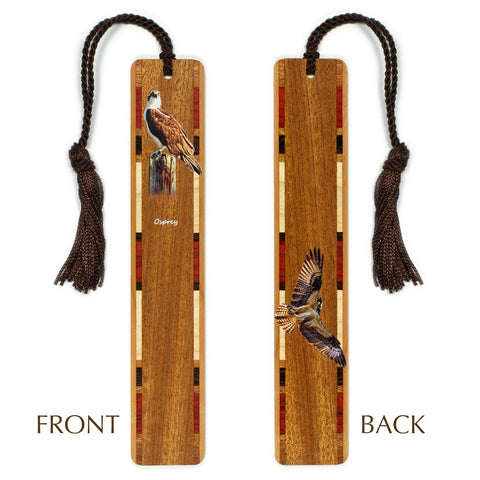 Osprey - Raptor - Wooden Bookmark with Tassel