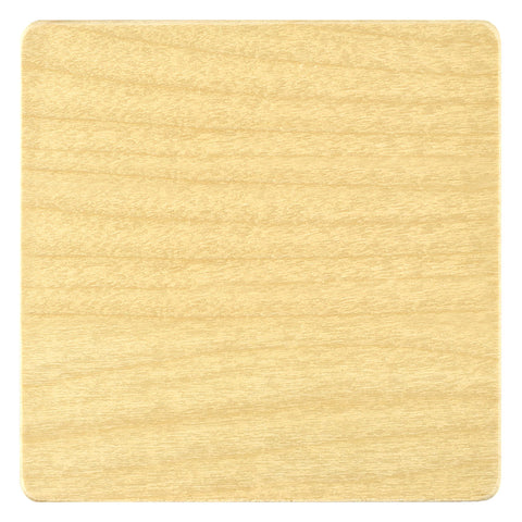 Blank Wood Coasters - Handcrafted in the USA - packs of 4, 12 or 50