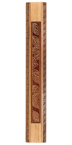 "Leaves Design R325 12"" Solid Wood Architectural Ruler"