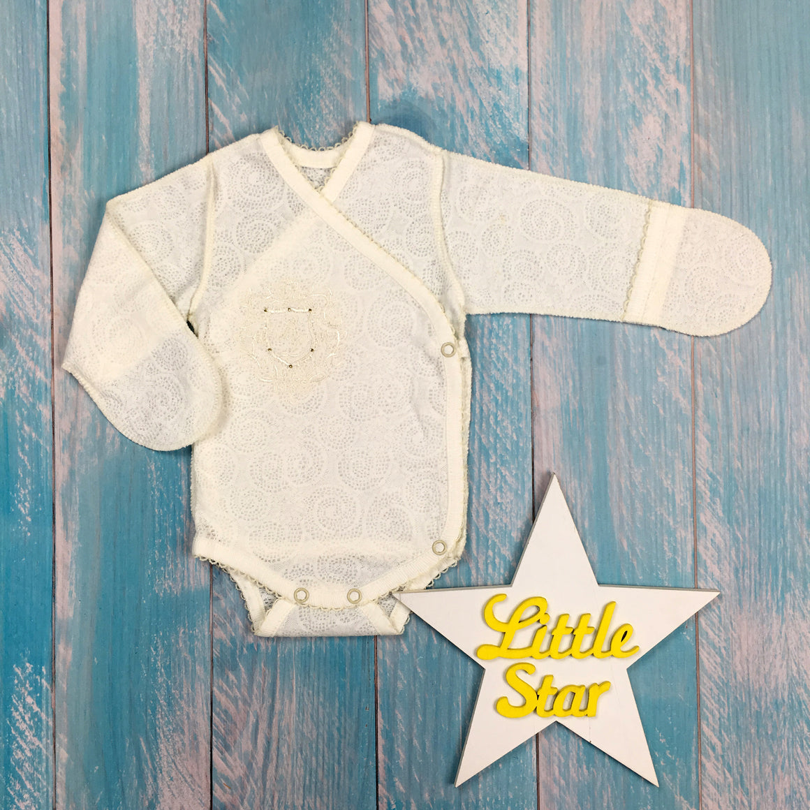 Inside-out romper suit
