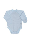 "Inside-out romper suit ""Hearts"""