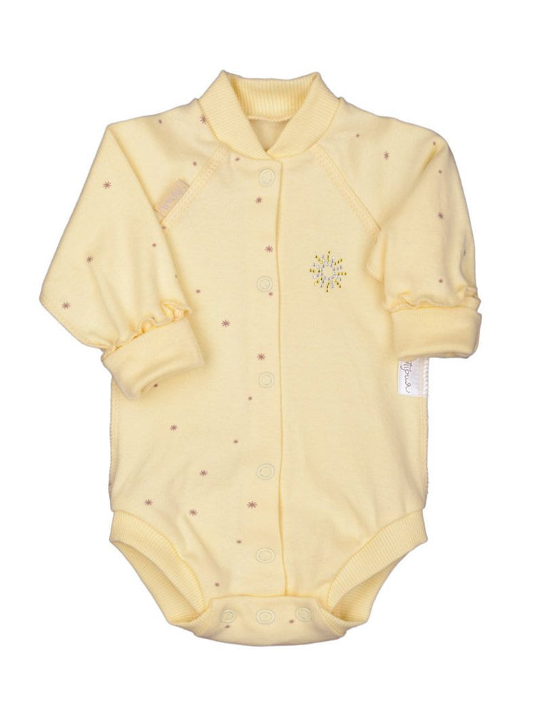 "Inside-out romper suit ""Shine"""