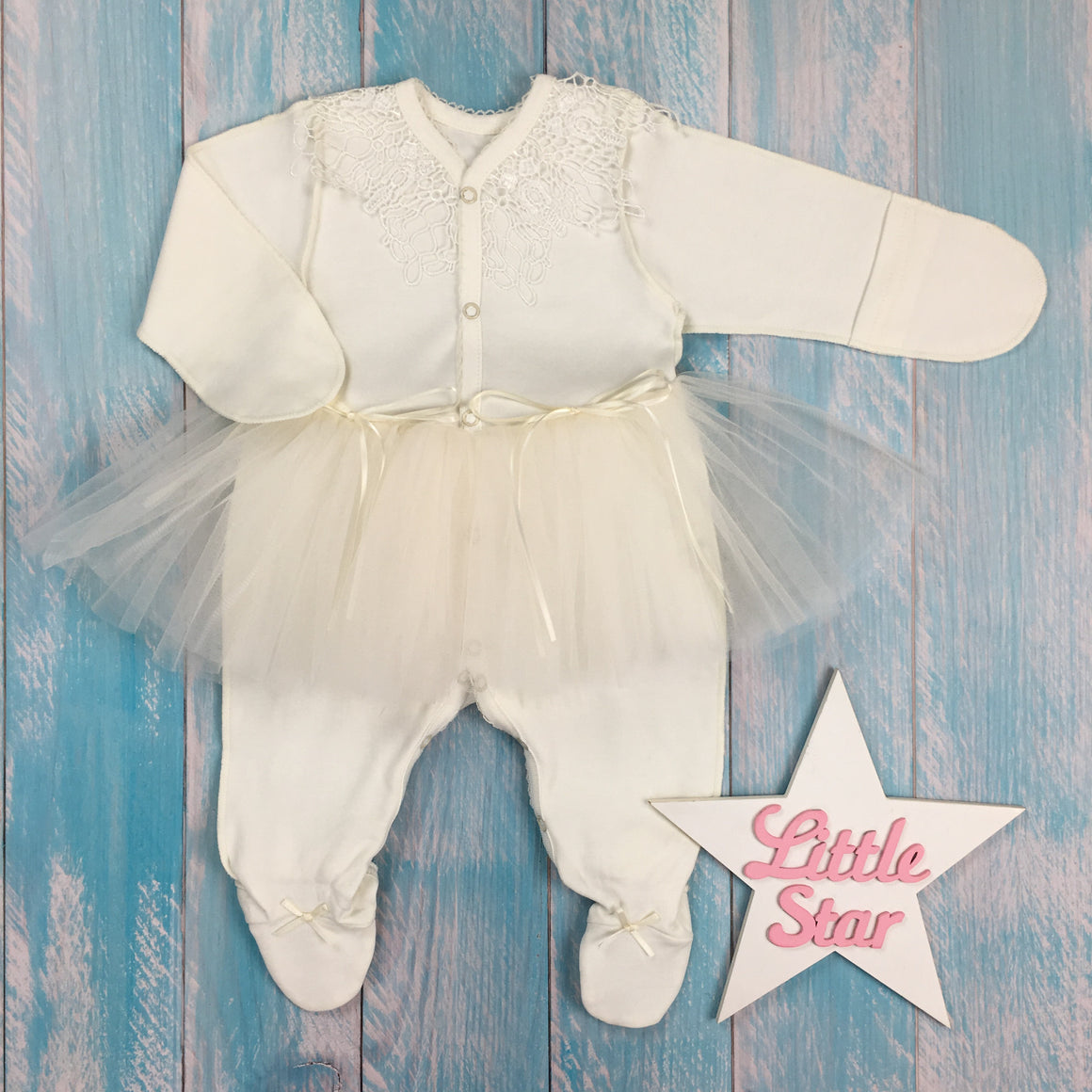 "Inside-out jumpsuit for a girl ""Constance"""