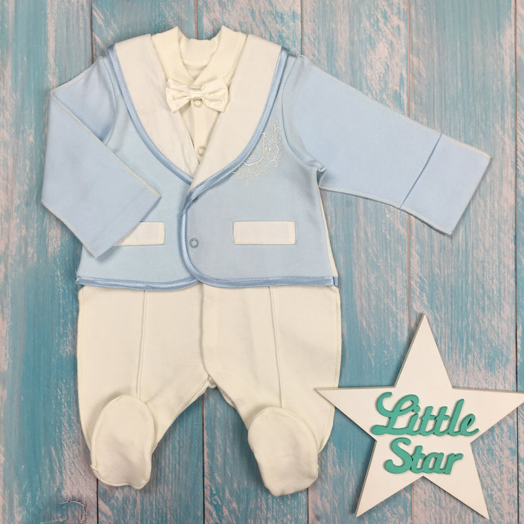 "Inside-out jumpsuit ""Gentleman"""
