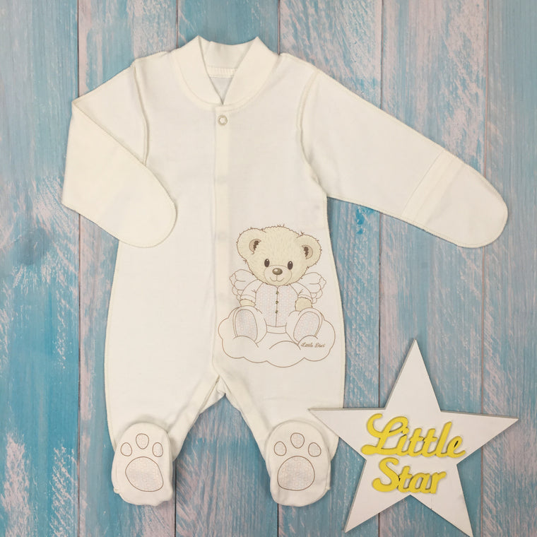 Inside-out jumpsuit  'Angel Bear'