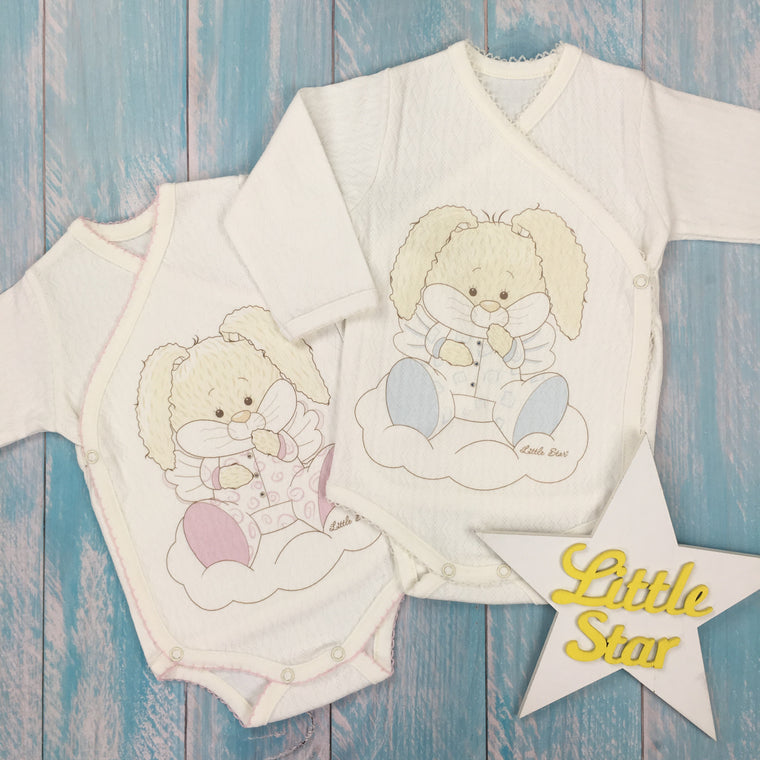 "Inside-out romper suit ""Angel Bear"""