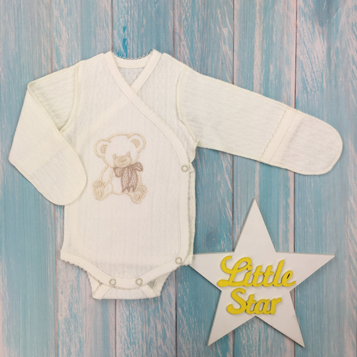 "Inside-out romper suit ""Playful"""