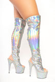 Dream Collection solid thigh boot - The Beauty Cave Boutique