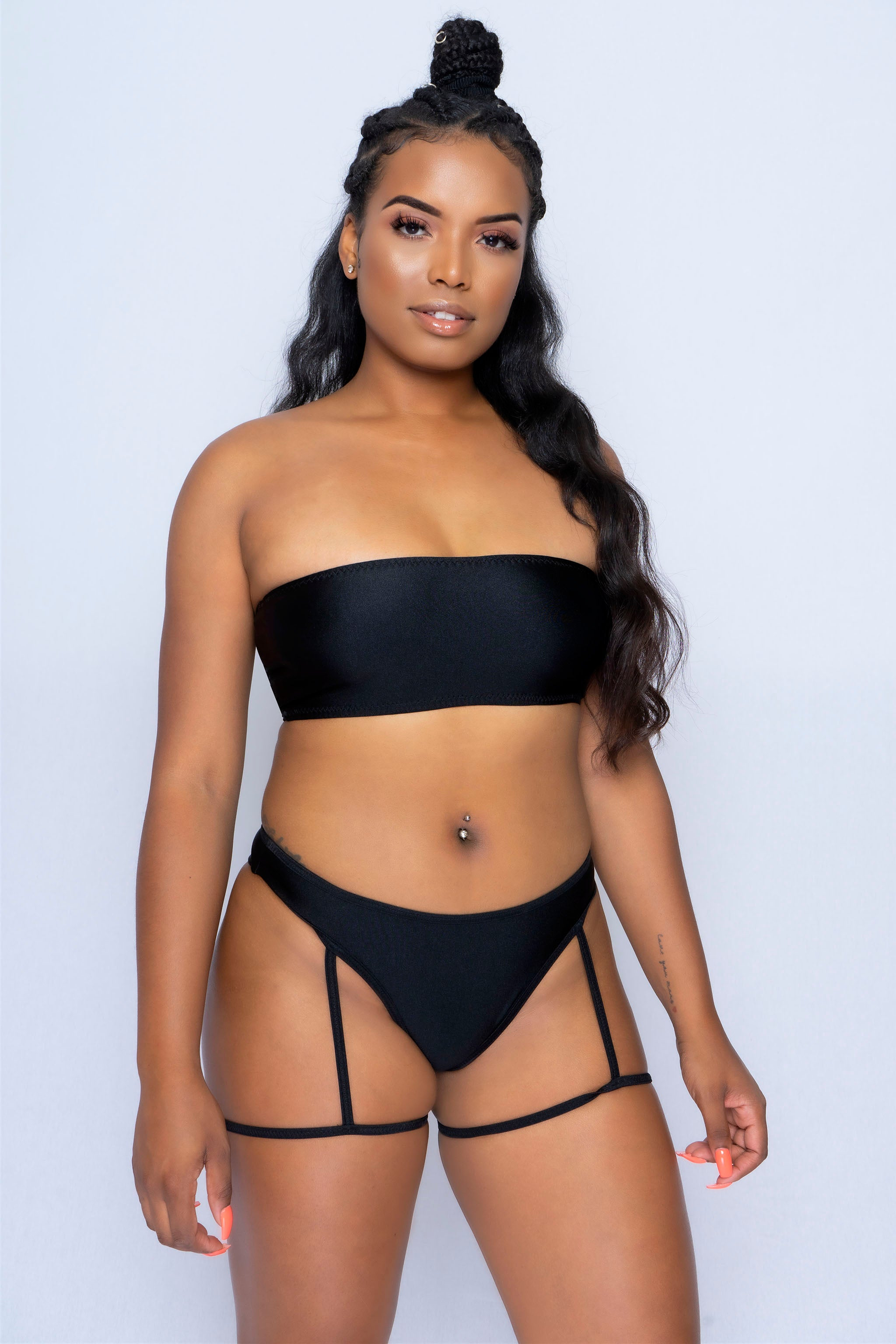 Bandeu Garter Bikini - The Beauty Cave Boutique
