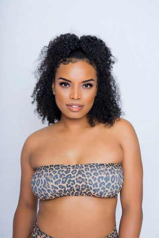 Cheetah Print Tube Top
