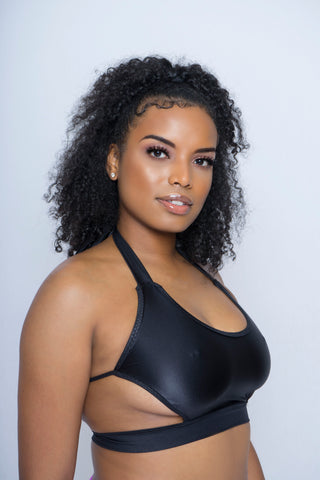 Peek-a-boob Flirtatious Crop Top - The Beauty Cave Boutique