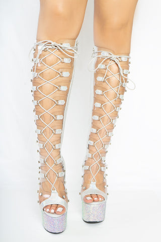 Iced Out lace up