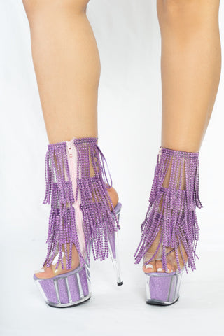 Lavender Sequence Fringe - The Beauty Cave Boutique
