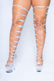 Hologram HOT Girl heels