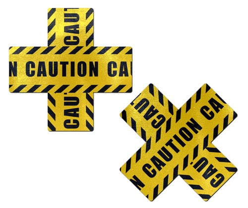 Caution Cross Pasties