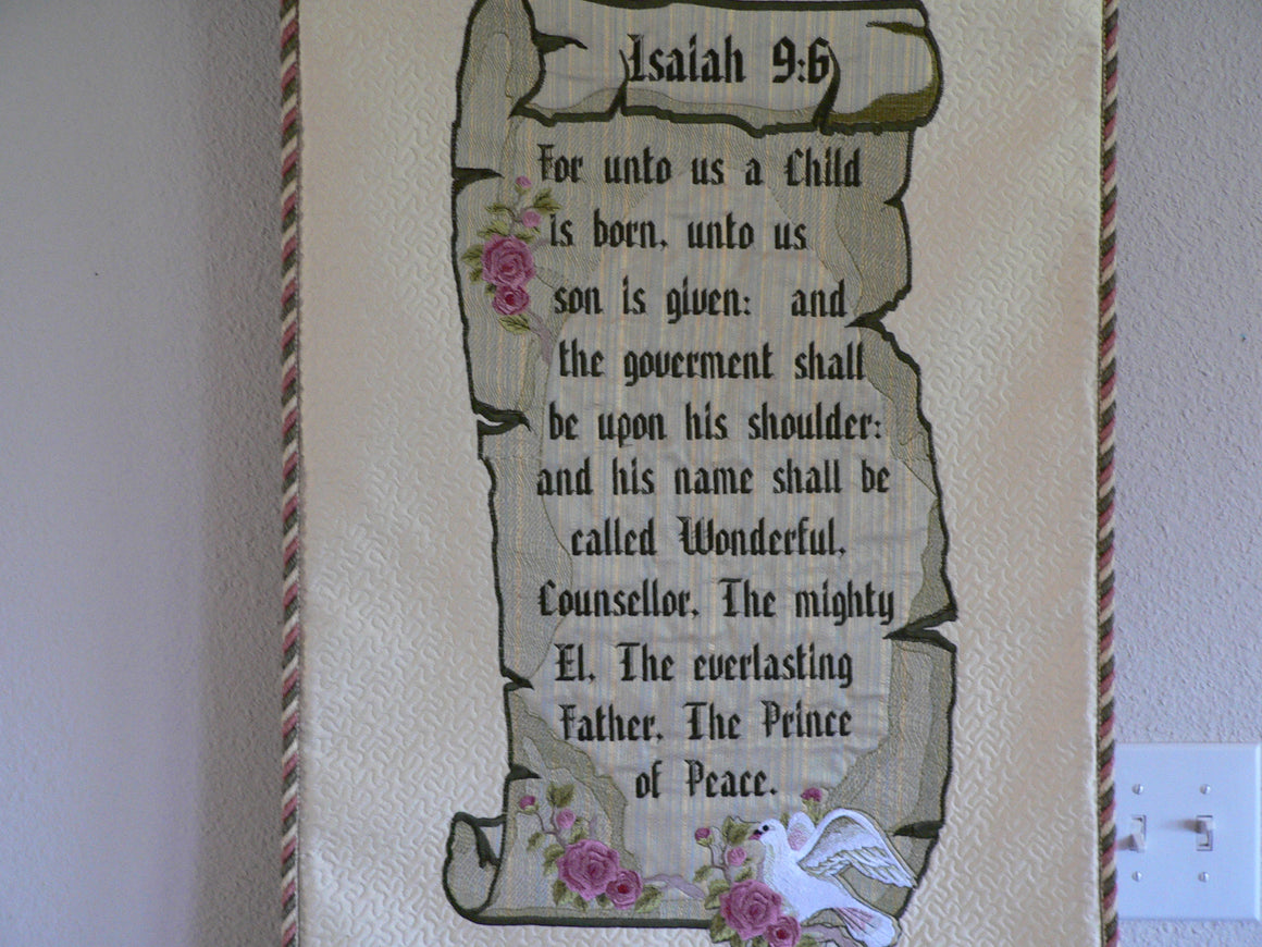 Isa 9:6 Tapestry