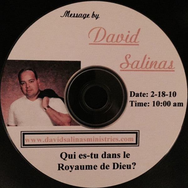 Qui es-tu dans le Royaume de Dieu? Teaching CD in French by David Salinas