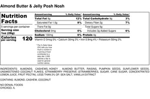 Almond Butter & Jelly Time Posh Nosh