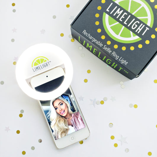 LIMELIGHT™ Selfie Ring Light