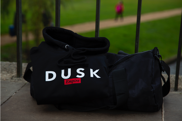 DUSK Empire Signature Black Hoody