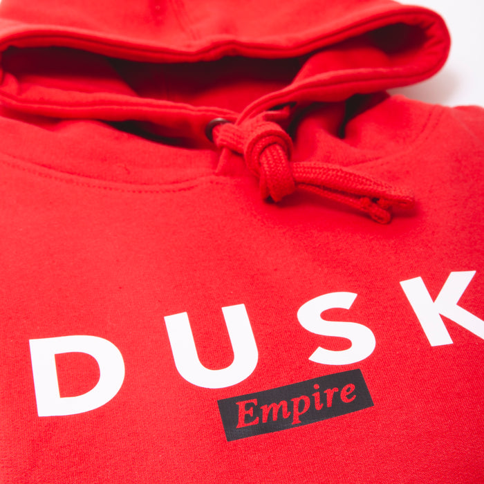 DUSK Empire Chilli Red Hoody