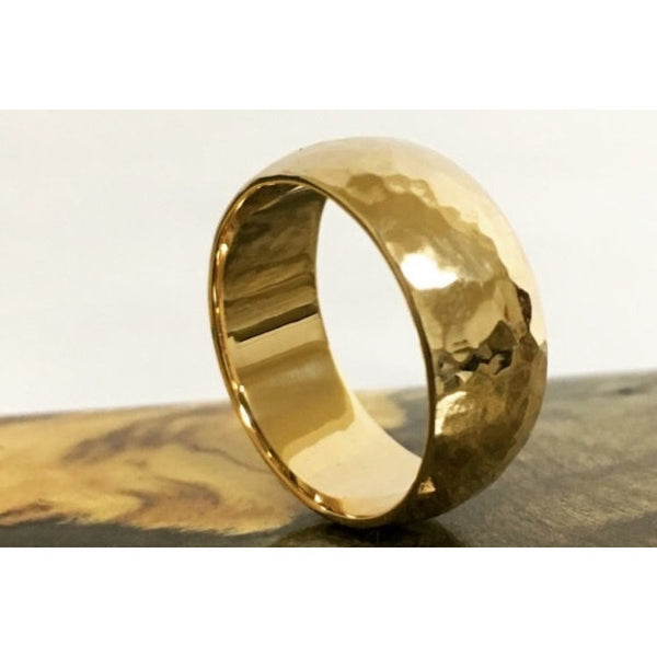 Hammered Gold Ring