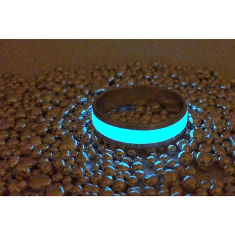 Stainless with Glow Inlay
