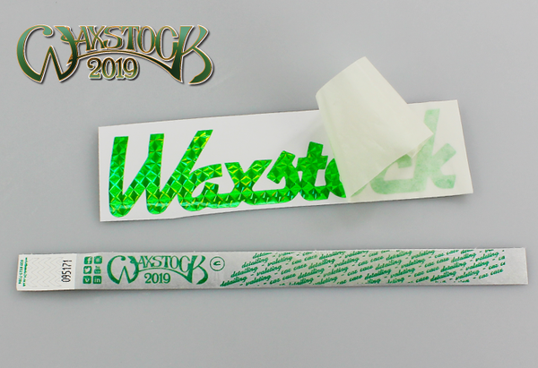 Waxstock 2019 Adult Ticket - EARLYBIRD DEAL WITH VINYL STICKER