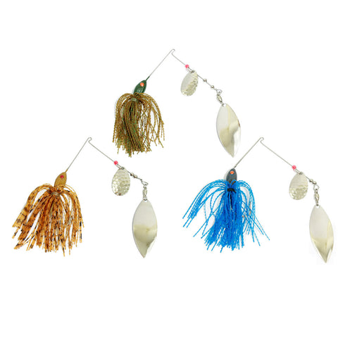 Rippled Skirt Spinnerbait 3 Pack