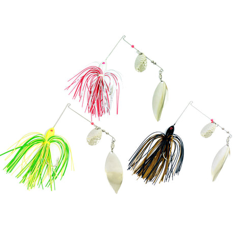 Rounded Skirt Spinnerbait 3 Pack